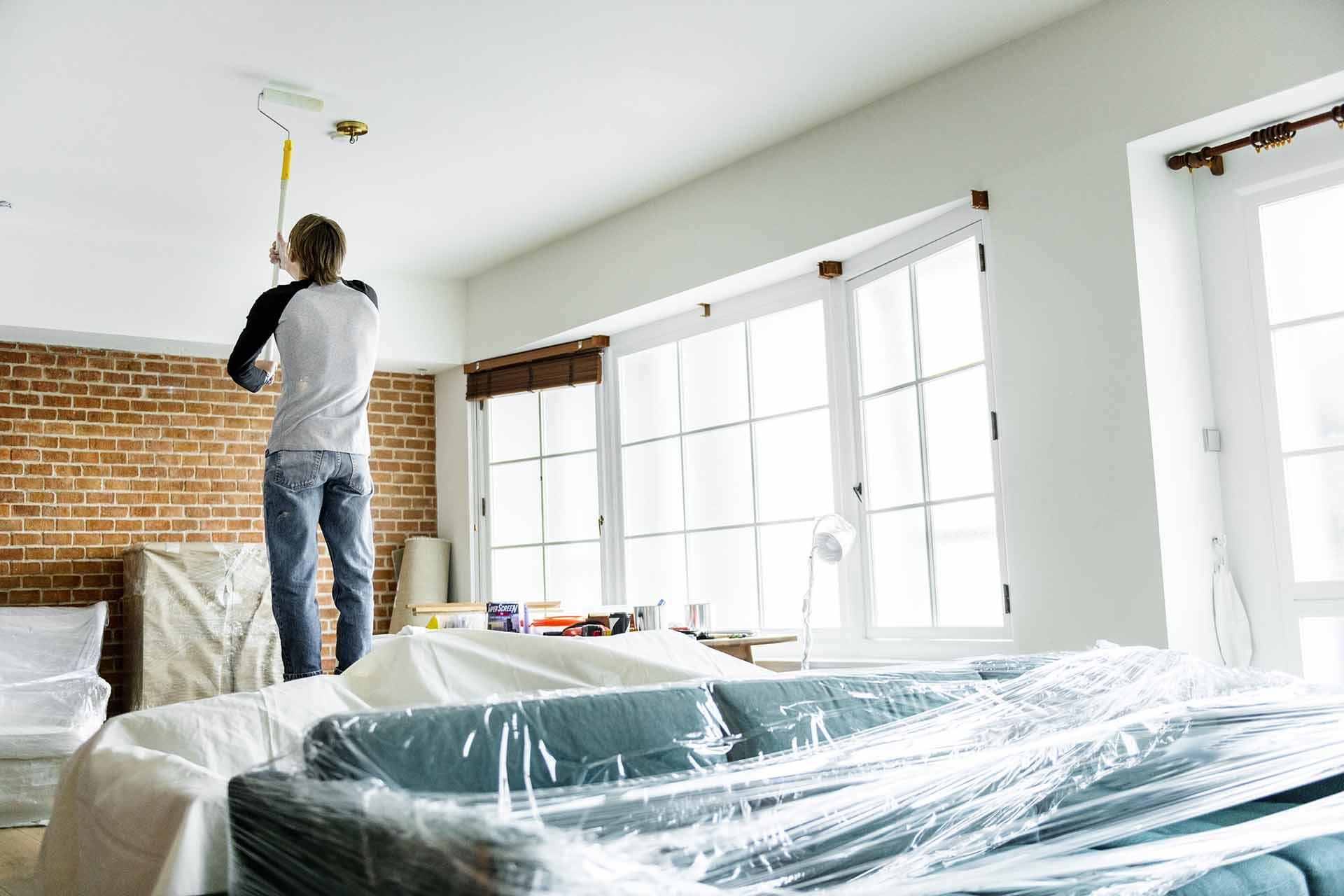 How do you renovate a small condo?